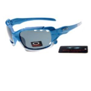 Discount Oakley Jawbone Sunglasses Black Lens Blue